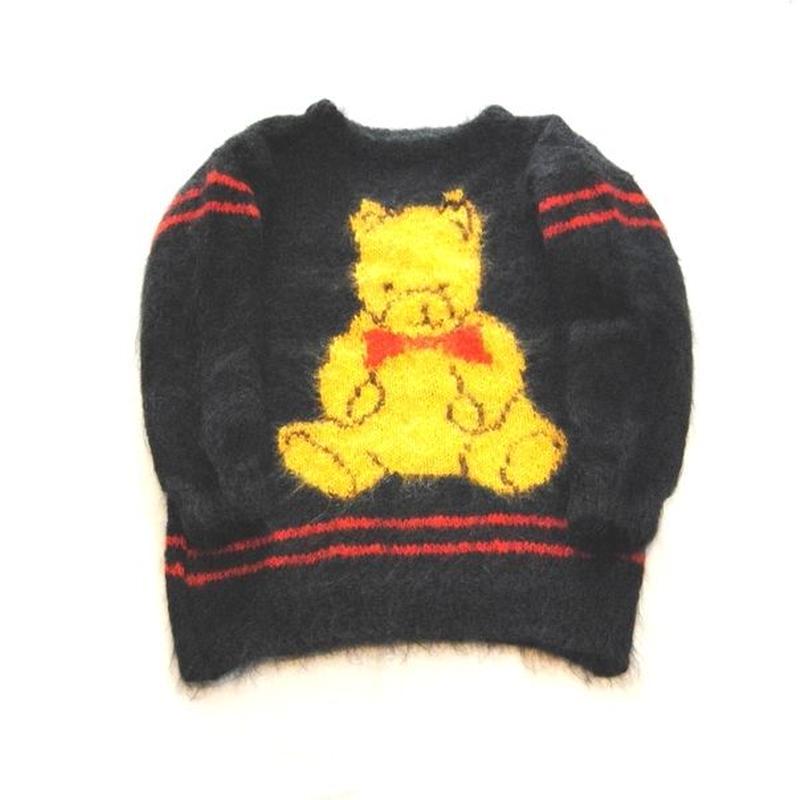 ENGLAND製 BEAR Mohair Knit