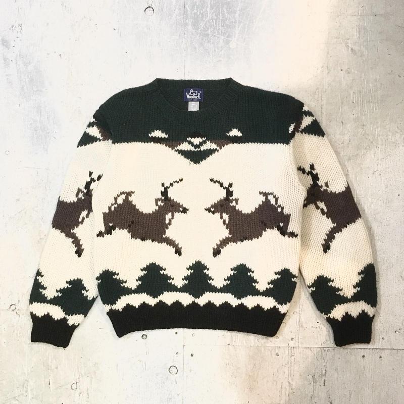 【WOOLRICH】ウールニットセーター