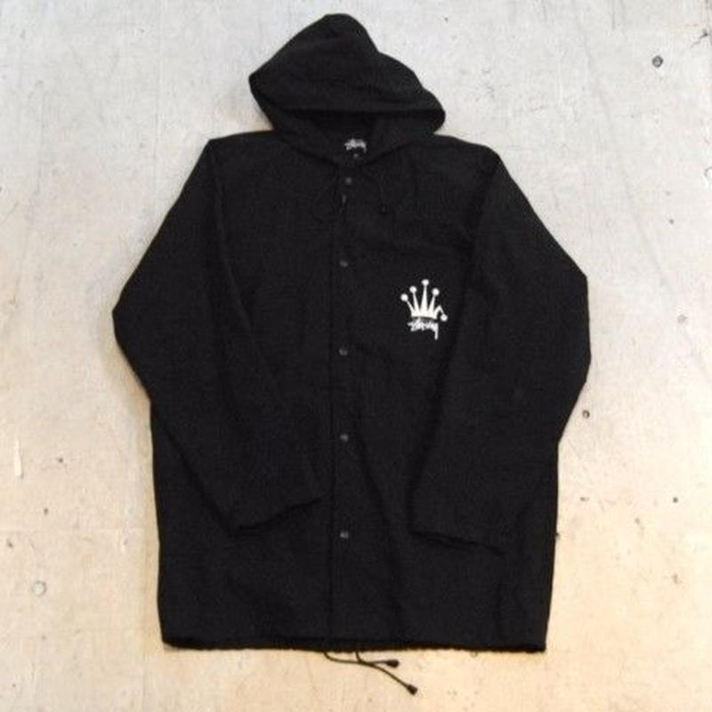 【STUSSY】 Hooded Nylon Jacket USA製