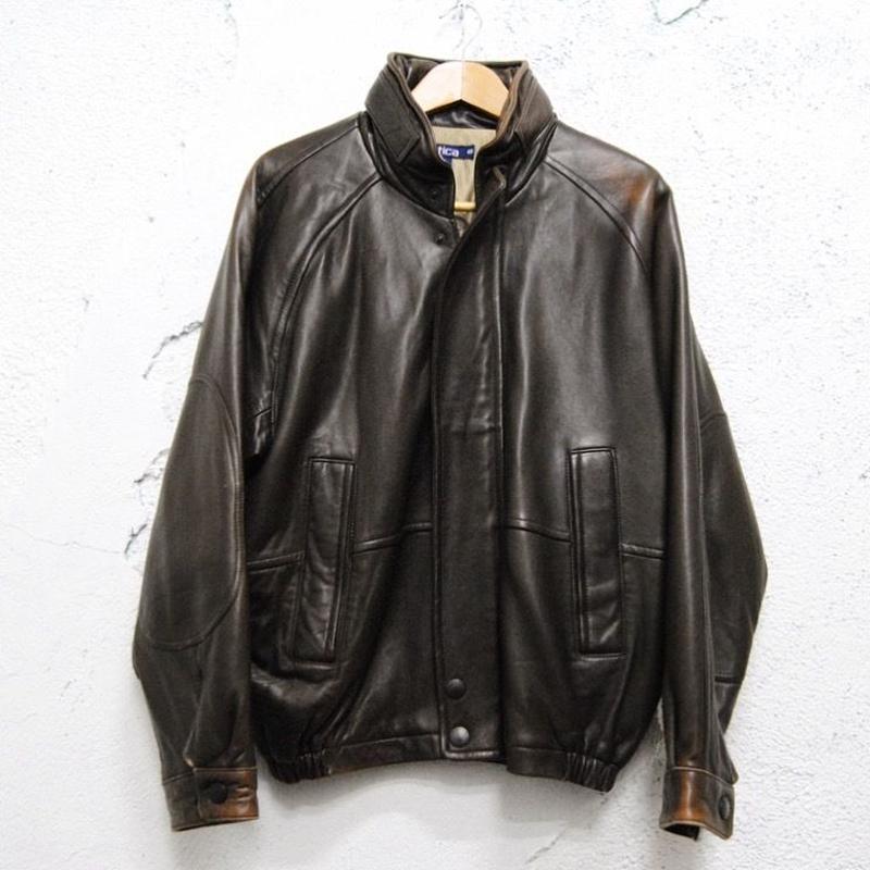 【NAUTICA】leather jacket