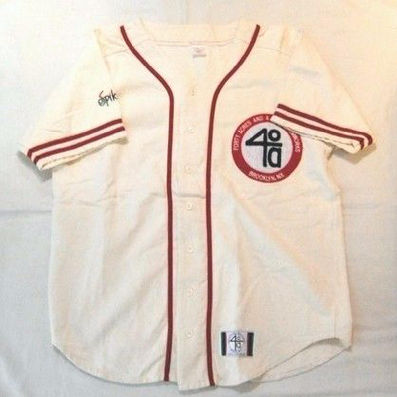 【40 Acres And A Mule】vintage baseball shirt