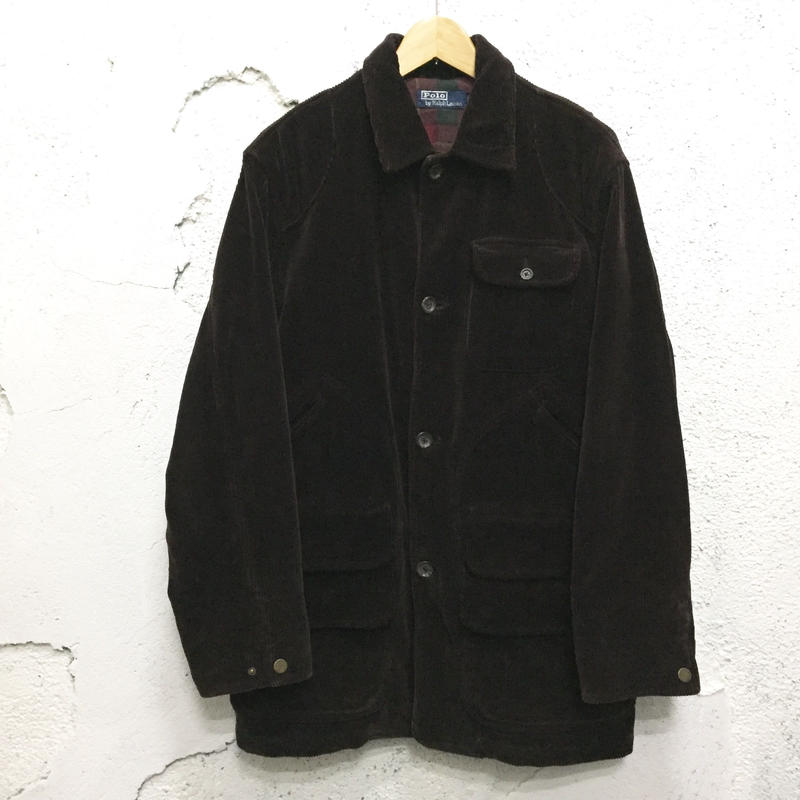 【POLO by Ralph Lauren】Corduroy Hunting Coat