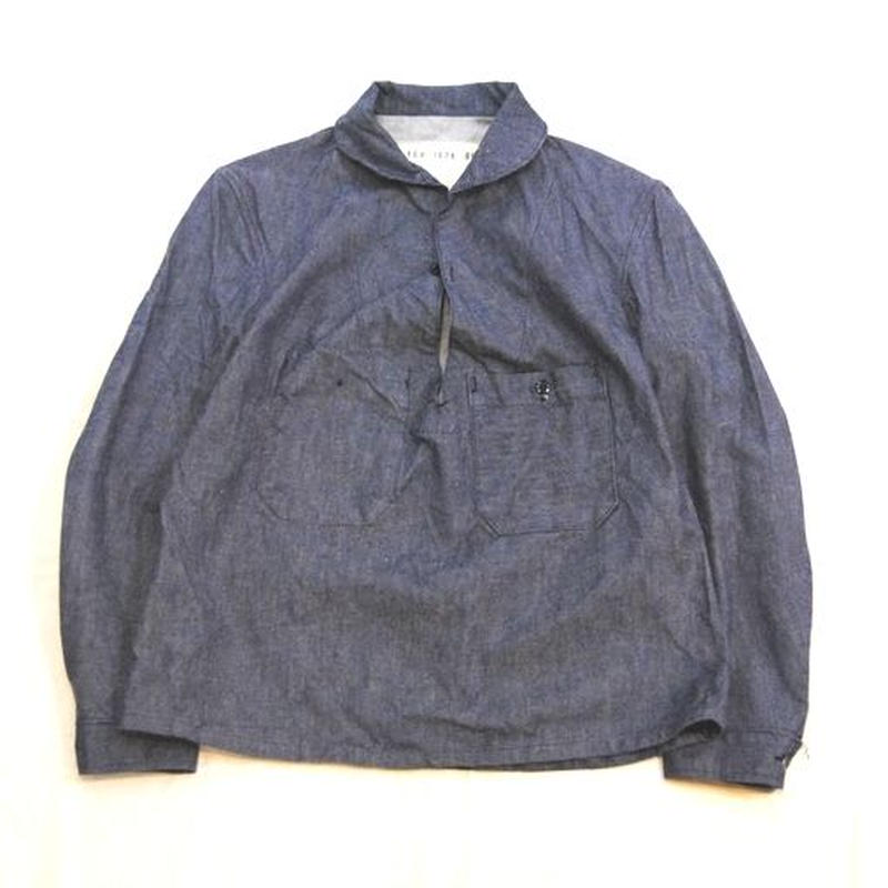 75's FRANCH MILITARY pullover shirt
