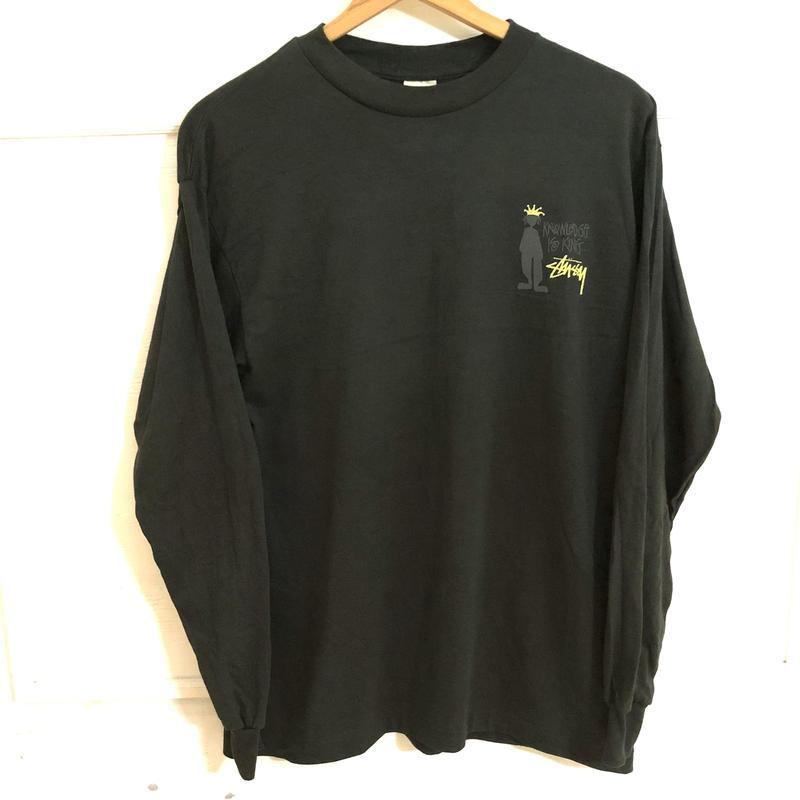 【OLD STUSSY】90s デッドストック  L/S Tシャツ