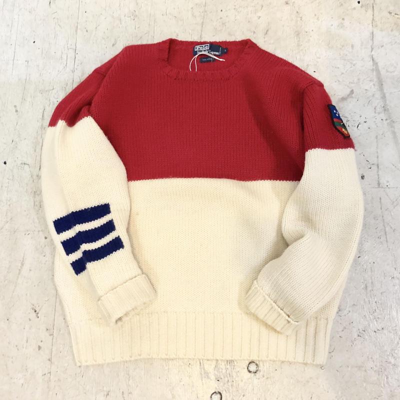 【POLO ralphlauren】SUCIDE SKI セーター
