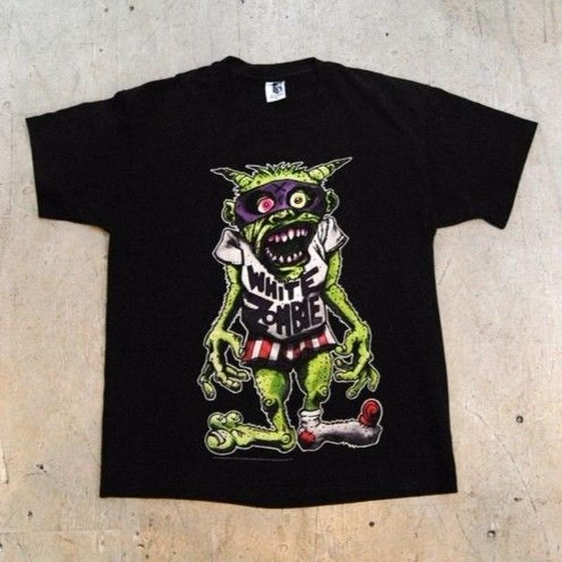 """""""WHITE ZOMBIE"""" 95s S/S Tシャツ"""