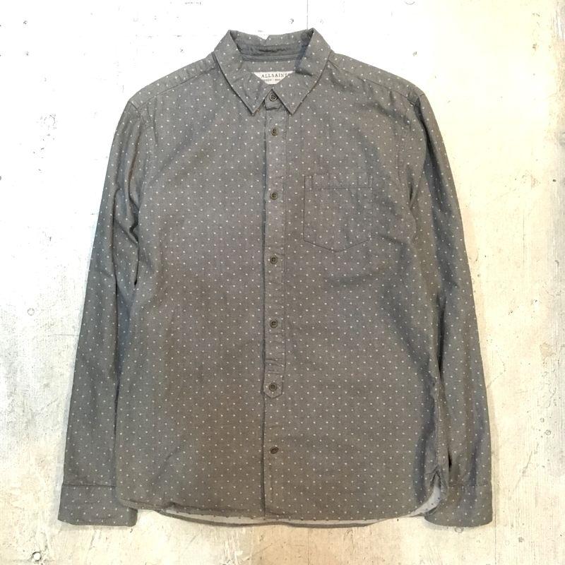【ALLSAINTS】コットンシャツ