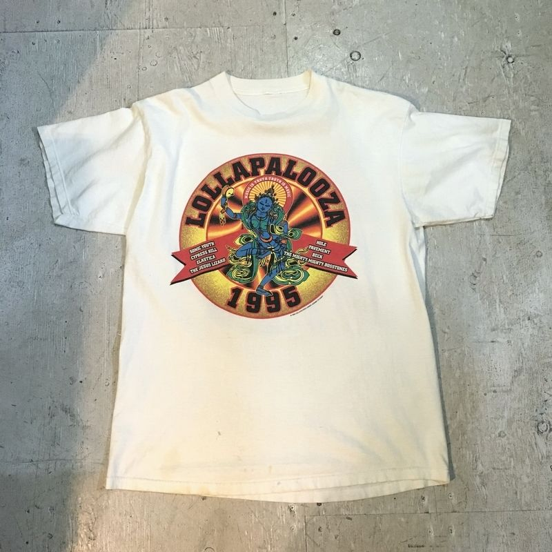 """""""LOLLAPALOOZA '95""""  S/S Tシャツ"""