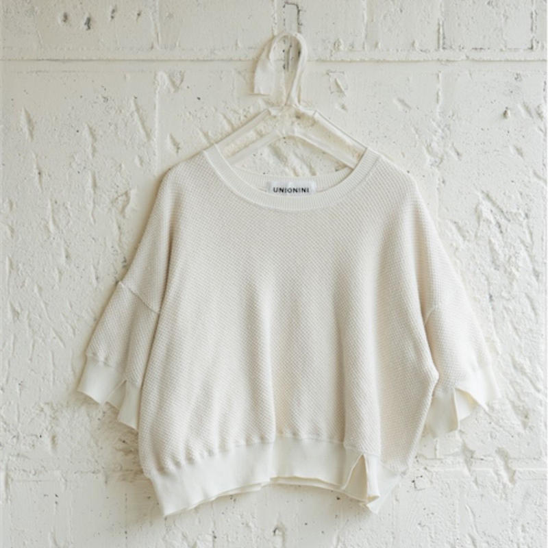 【 UNIONINI 】knit wide pillover