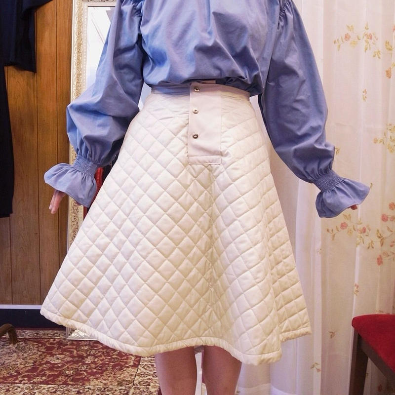 【 MARU TO 】Quilt Skirt