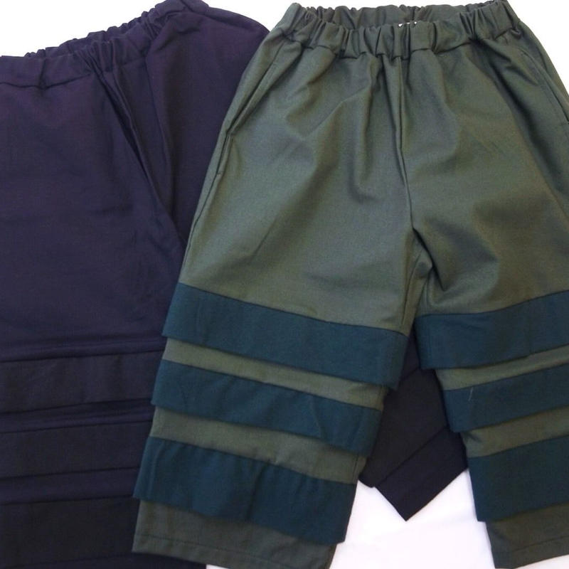 【 UNIONINI 】layer pants