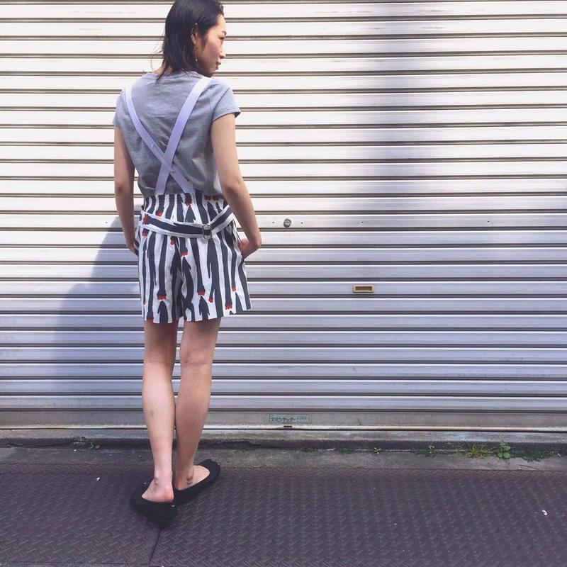 【 MARU TO 】Apron Culottes