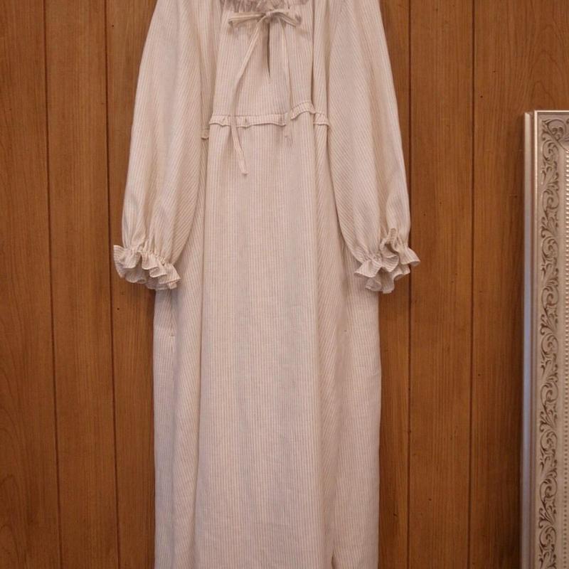 【 RUIMEME 】stripe linen dress