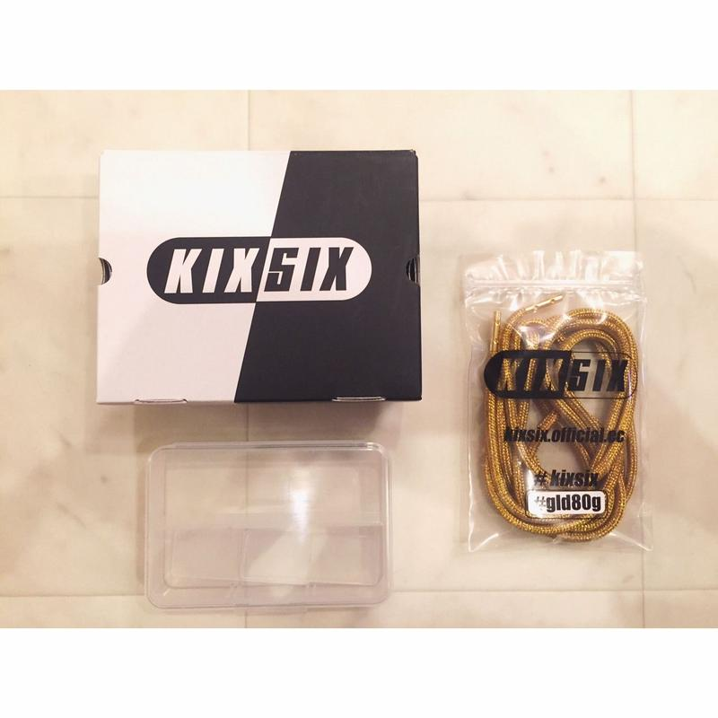 【 KIXSIX 】METALLIC ROPELACE -Gold-