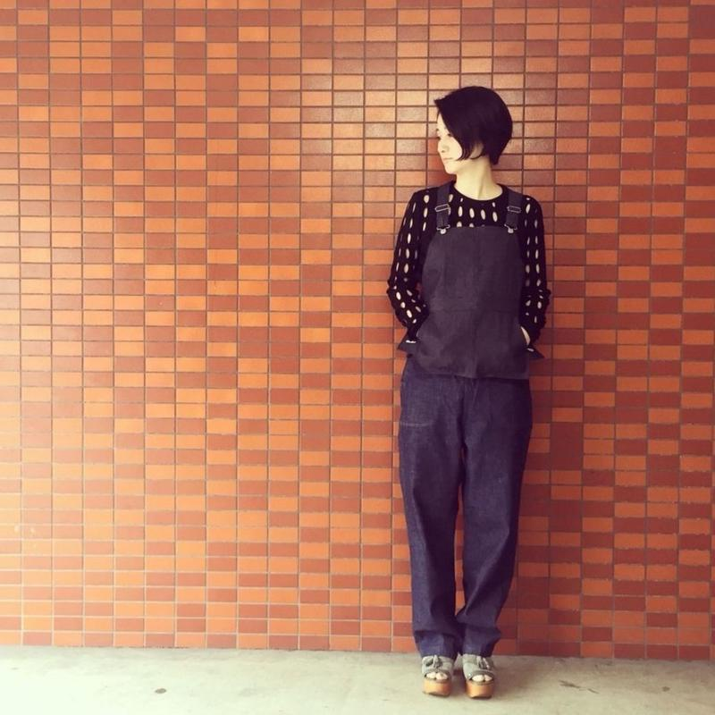 【 MARU TO 】Vest DENIM