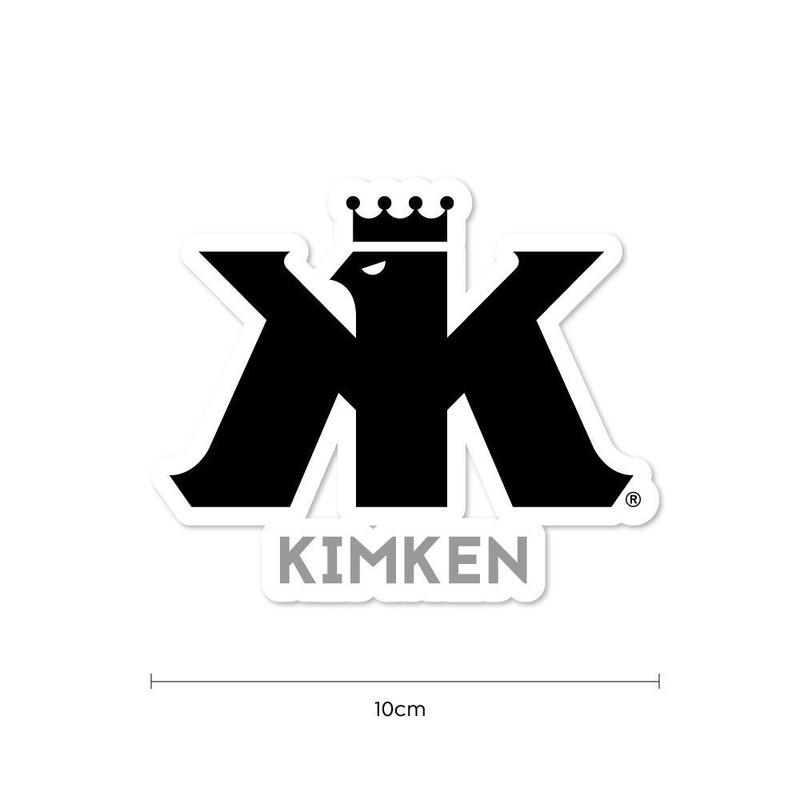 KIMKEN® Sticker 10cm【Black】