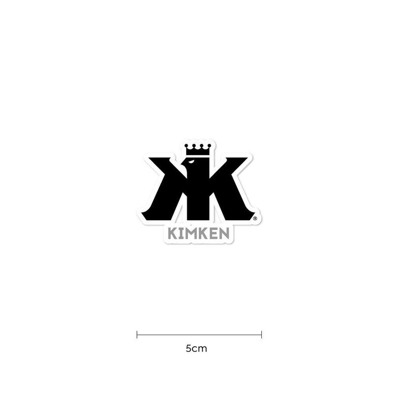 KIMKEN® Sticker 5cm【Black】