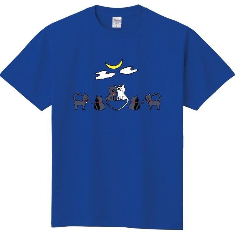 伊達政宗猫柄Tシャツ