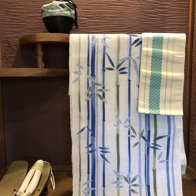 紫織庵 近江ちぢみ浴衣
