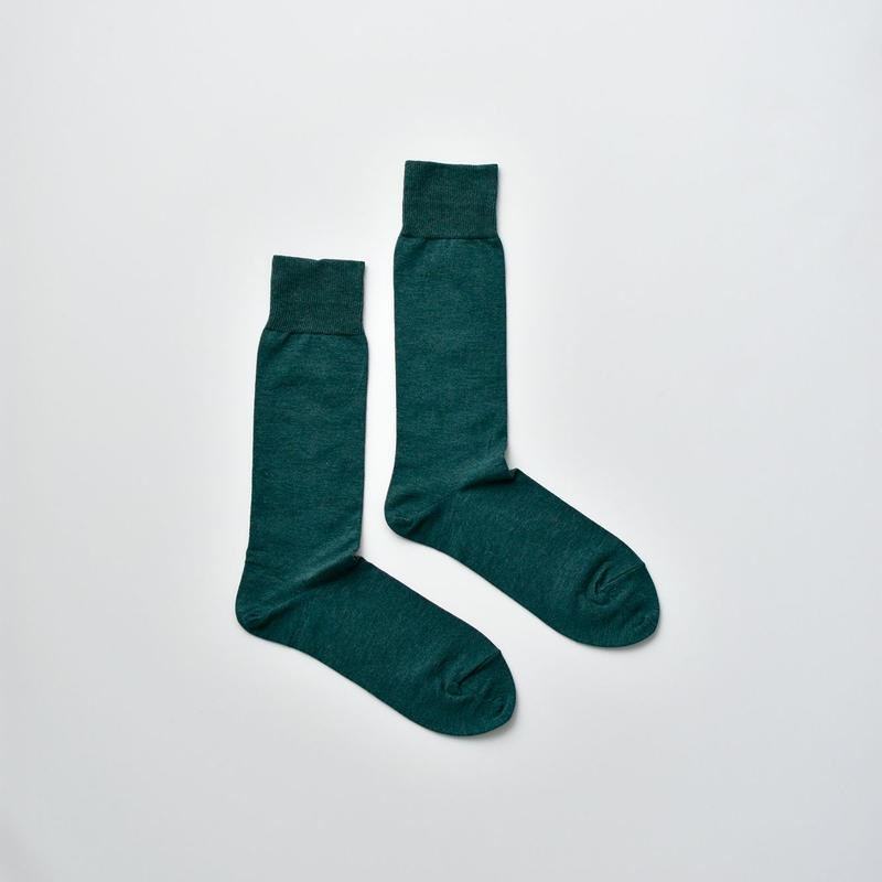 COTTON SOCKS / 22-24cm  Moss
