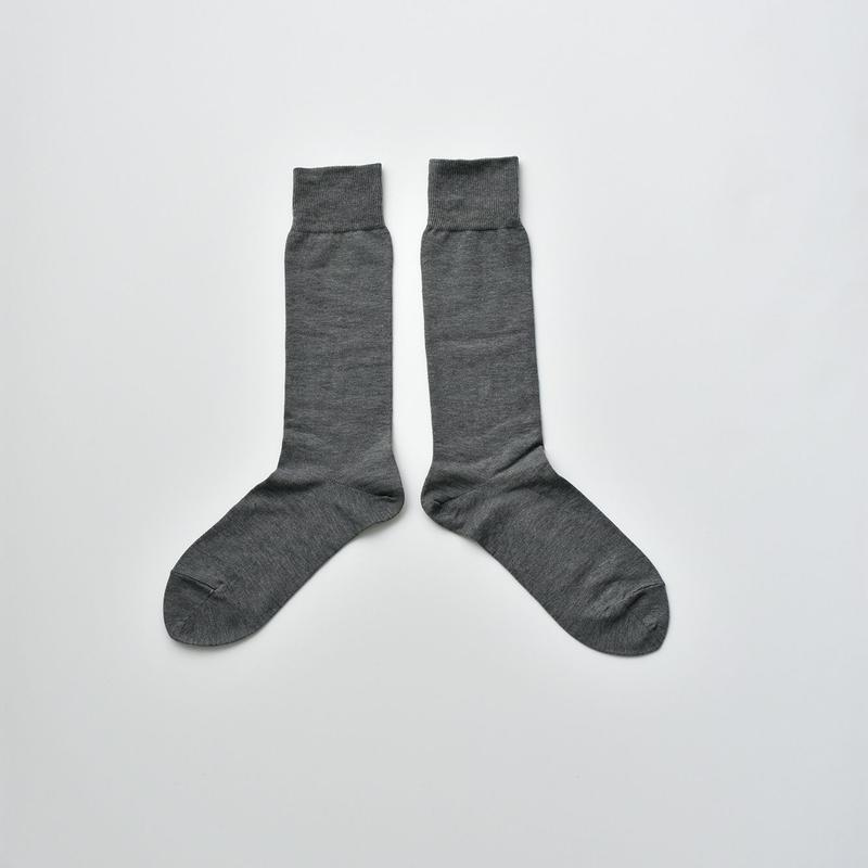 COTTON SOCKS / 22-24cm  Usuzumi