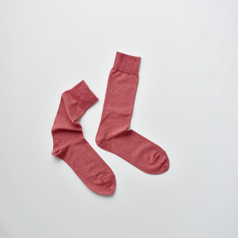 COTTON SOCKS / 22-24cm  Coral