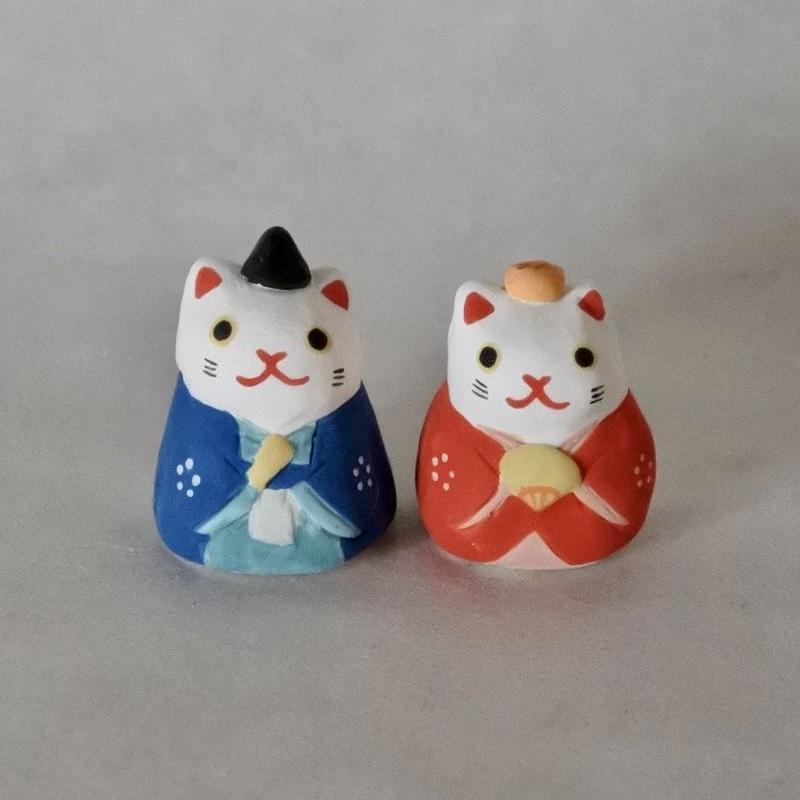 ミニ猫雛 Mini Cat hinadoll