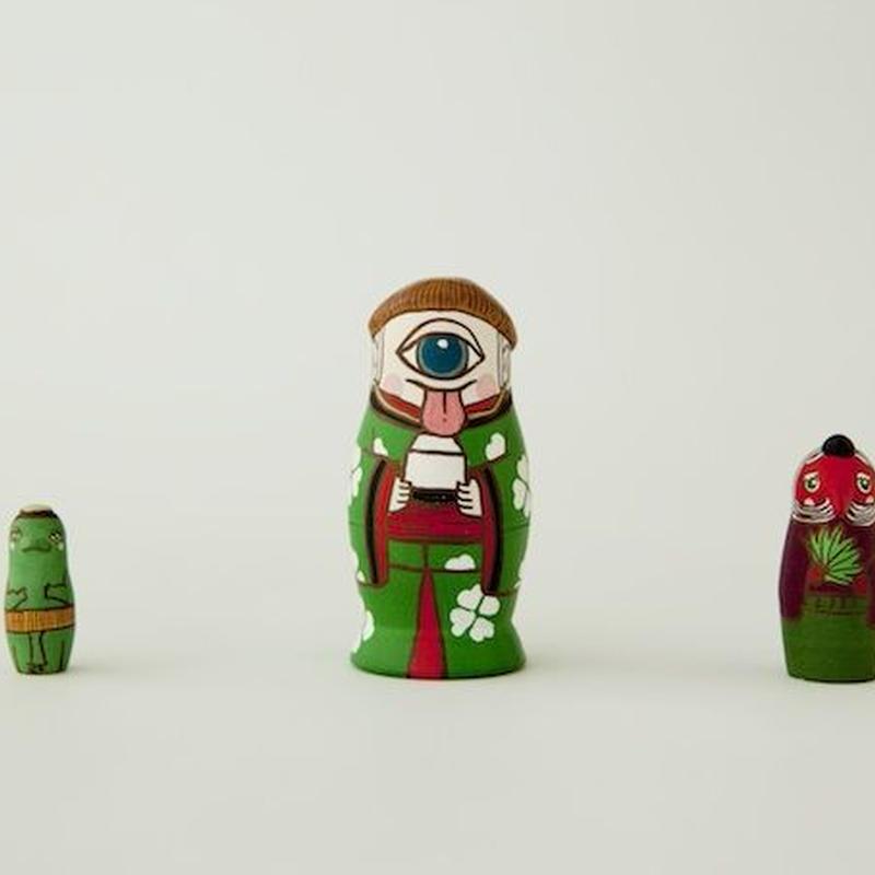 マトリョーシカ3個組(三妖怪)