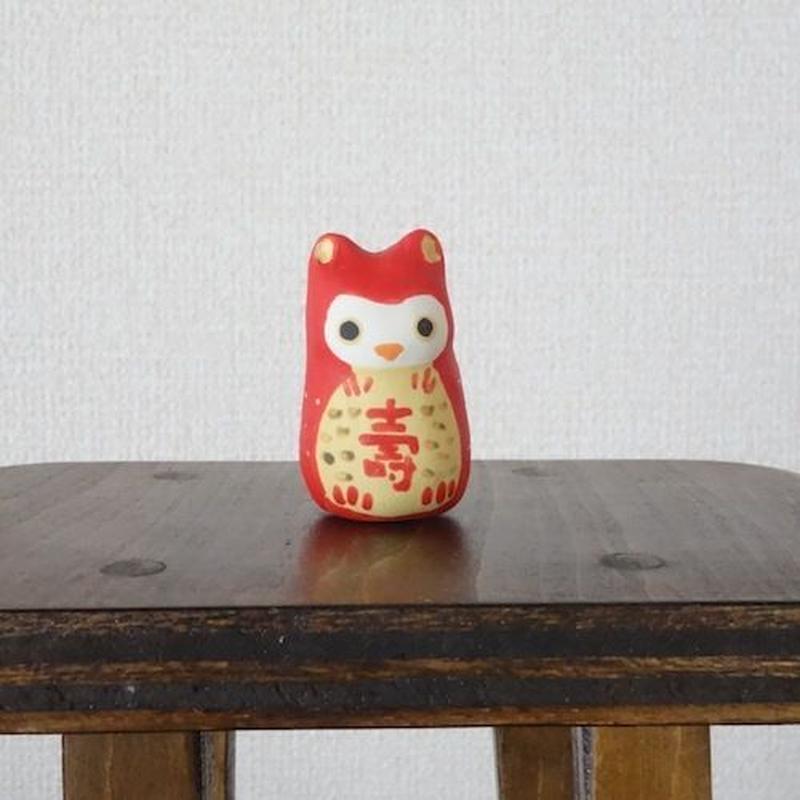 ミニ赤みみずく Mini red owl