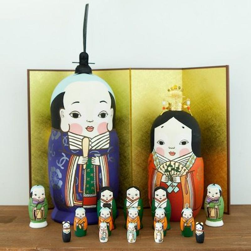 MATRYOSHKA 17sets 雛  Hina Doll