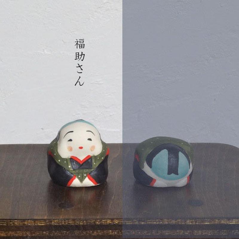 ミニ福助さん 緑 Mini Fukusuke green