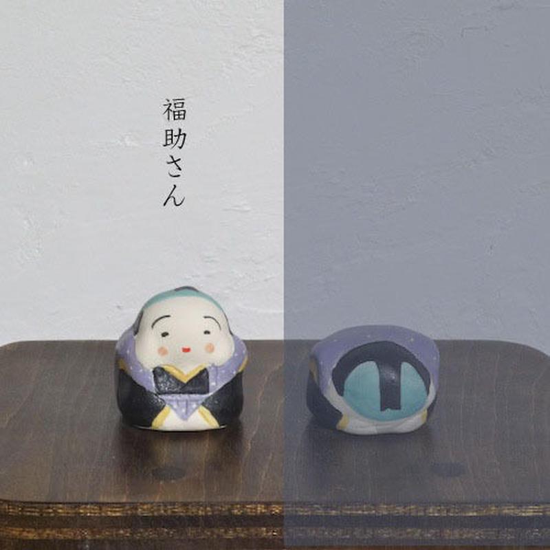 ミニ福助さん 紫 Mini Fukusuke purple