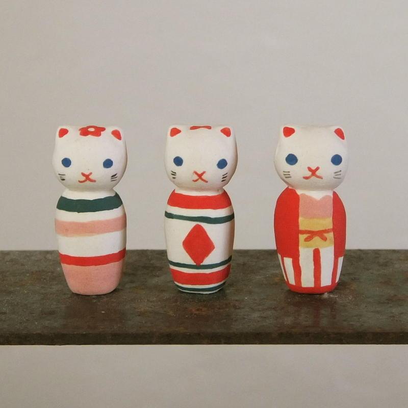 ねこけしのフェーブ Feve of Cat kokeshi