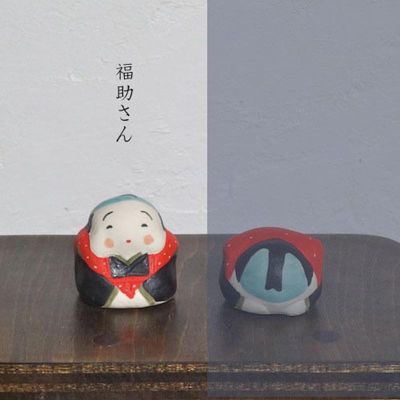 ミニ福助さん 赤  Mini Fukusuke red
