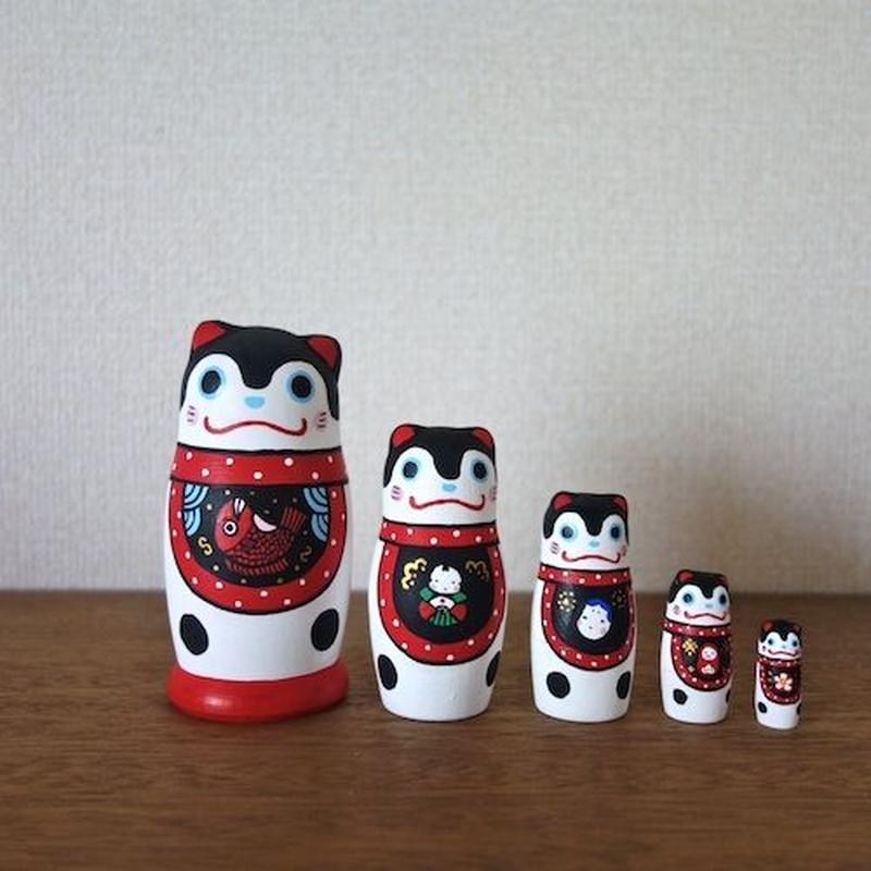 MATRYOSHKA 5sets ハリコ犬 Harikoinu