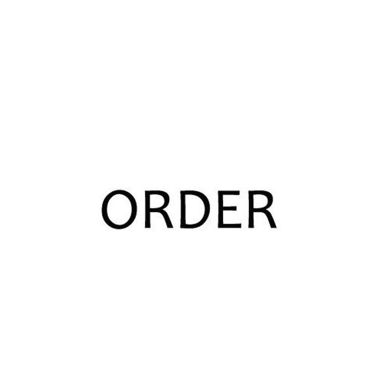 ご予約品 pre-order