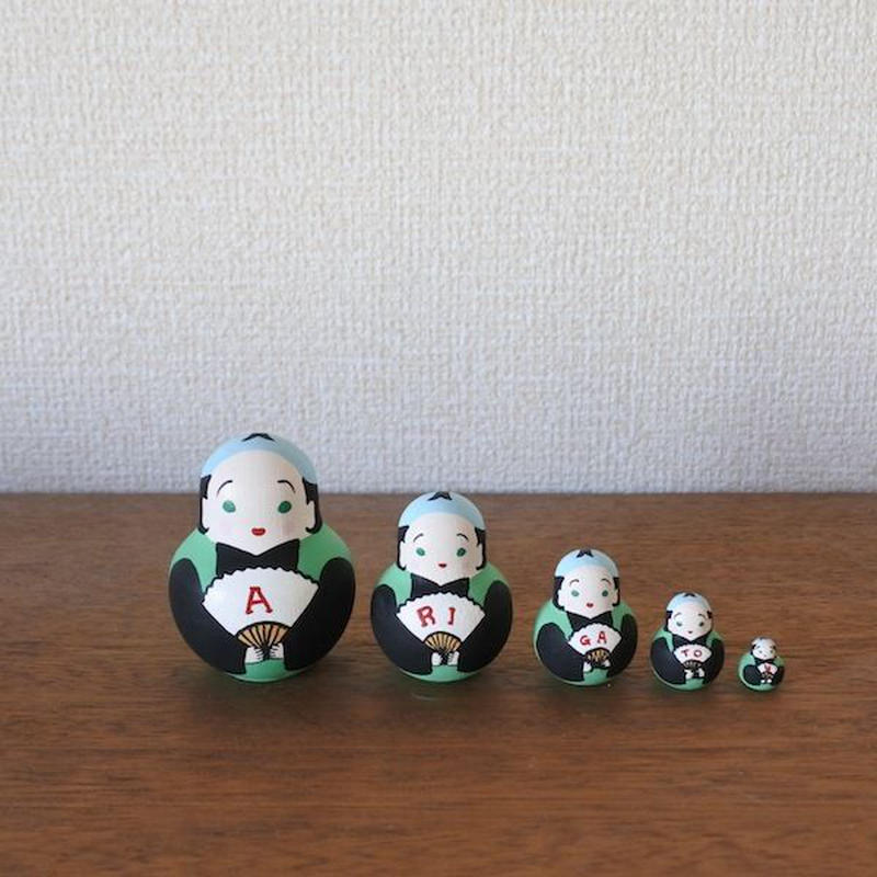 MATRYOSHKA 5sets ありがとう福助 Arigatou Fukusuke