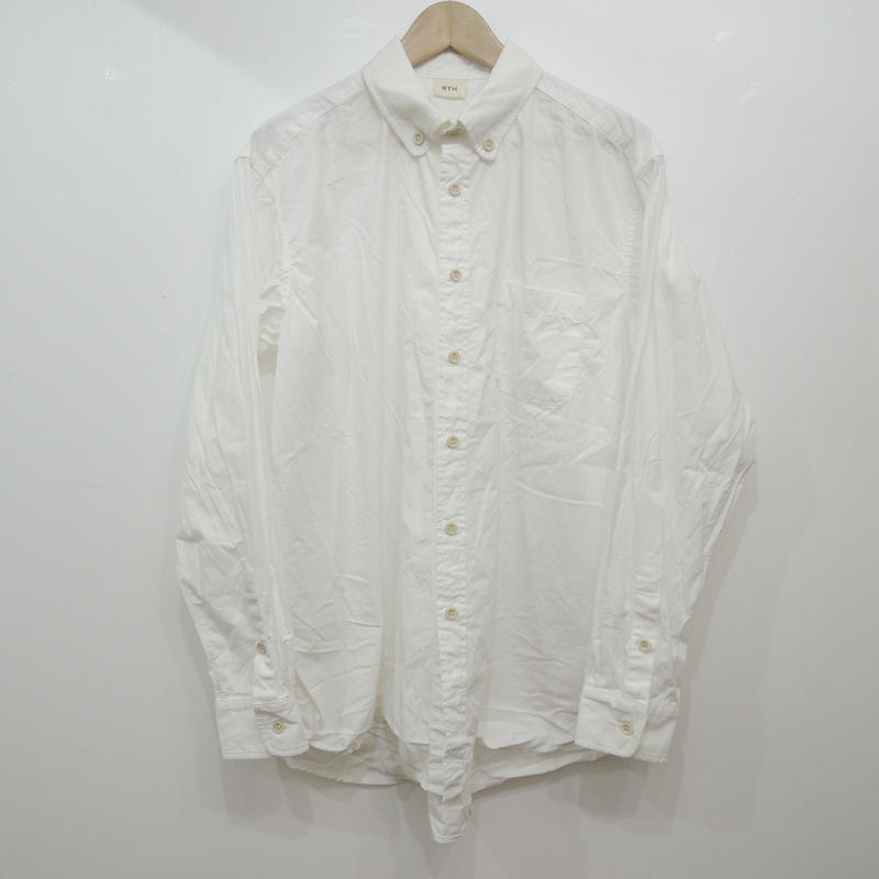 RTH POCKET SHIRT- WHITE-