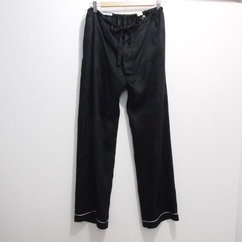 YOUNG & OLSEN DRAGON PYJAMA PANTS BLACK