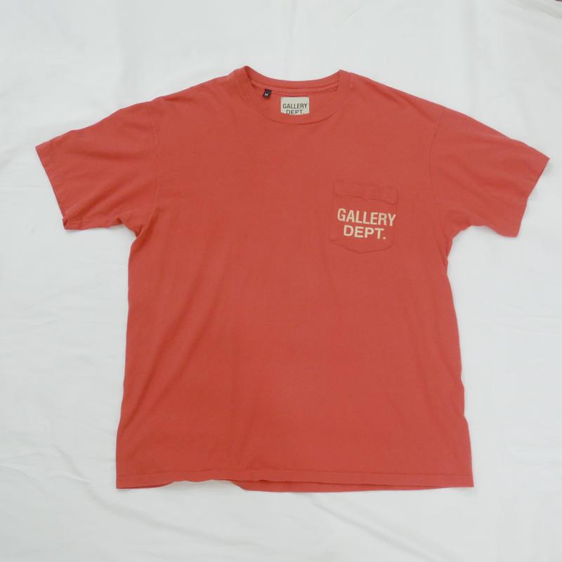 GALLERY DEPT.  Logo tee  (RED)