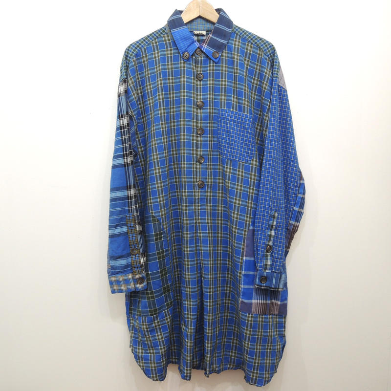 RTH ARTIST SHIRT-mulch plaid- 3
