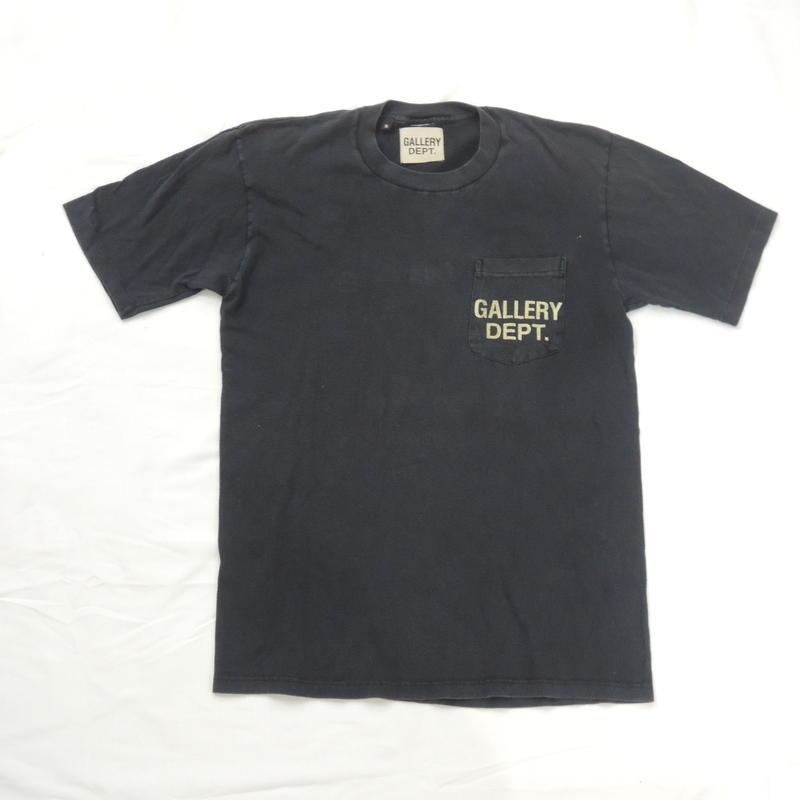 GALLERY DEPT.  Logo tee  (Black)