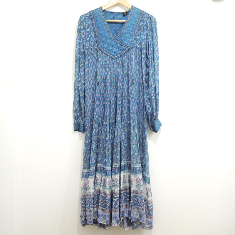 Vintage 70's indian cotton dress
