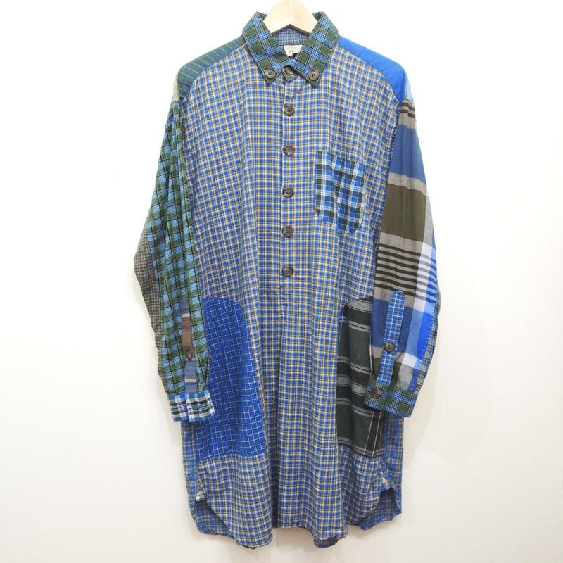 RTH ARTIST SHIRT-mulch plaid- 1