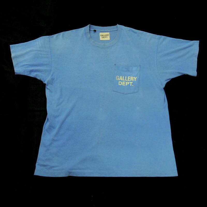 GALLERY DEPT.  Logo tee  (Blue) 2