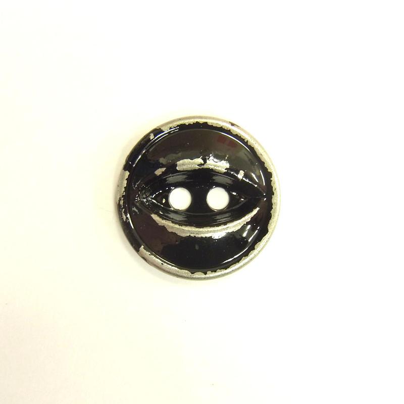 ビンテージソーオンボタン66(10個セット)はがしブラック