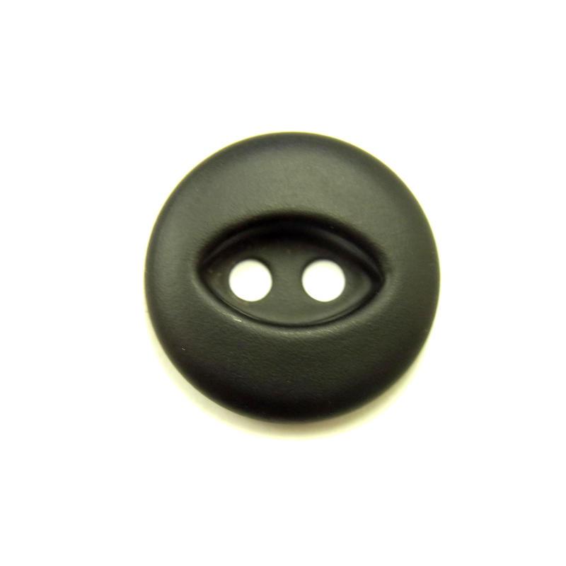 ビンテージソーオンボタン50(10個セット)マットブラック