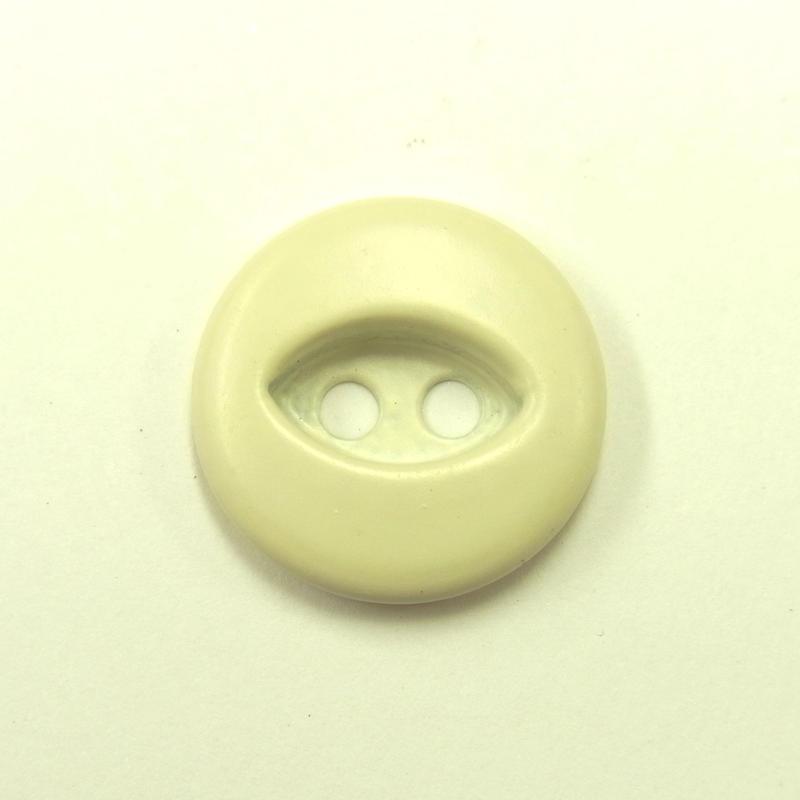 ビンテージソーオンボタン50(10個セット)マットアイボリー