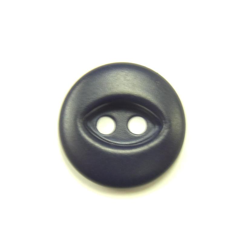 ビンテージソーオンボタン50(10個セット)マットネイビー
