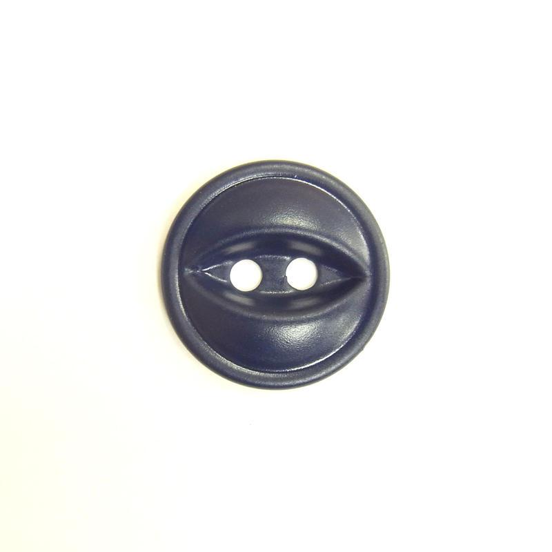 ビンテージソーオンボタン66(10個セット)マットネイビー
